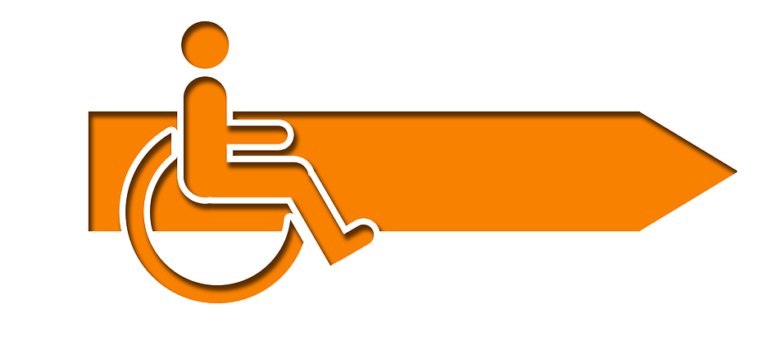 Dank demRollstuhlliftkönnen Rollstuhlfahrer Treppen problemlos überwinden