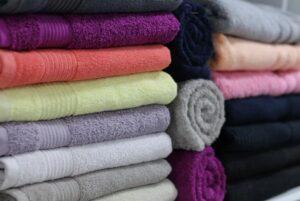 Bio Handtücher in unterschiedlichen Farben